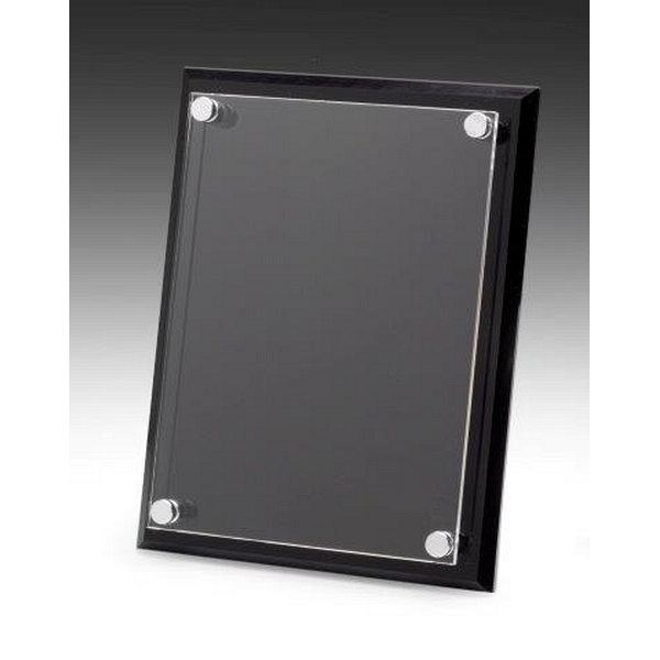 acrylic front plaque. Black Bedroom Furniture Sets. Home Design Ideas